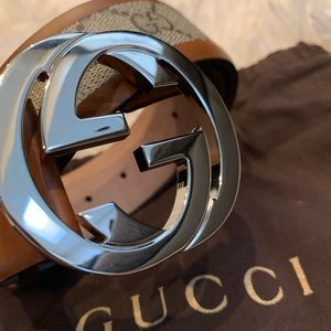 Gucci Accessories - NEW Authentic GUCCI GG Leather BELT